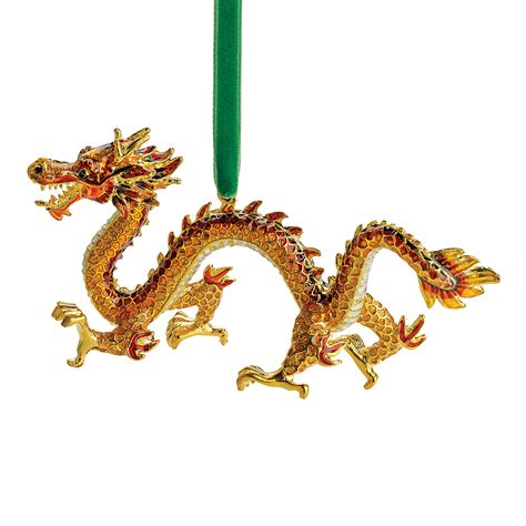 cloisonne dragon christmas ornament gump s