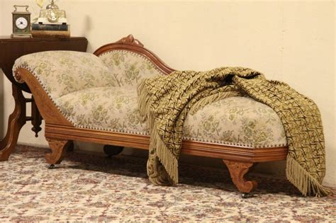 victorian fainting couch victorian 1875 antique fainting couch chaise or recamier