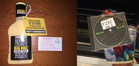 Mcdonalds Big Mac Sauce Giveaway Locations - you can buy mcdonald s big mac sauce bottle this guy s mixtape for 10 000