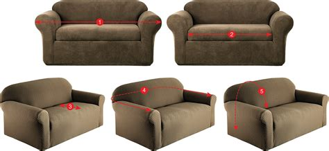 how to measure couch for slipcover how to measure furniture for slipcovers kohl s