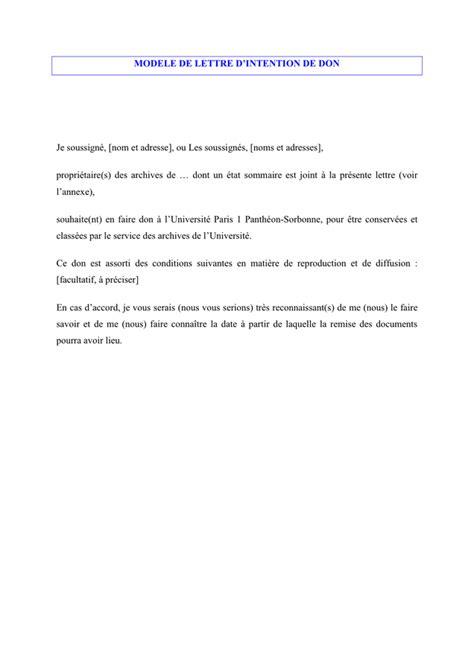 Lettre D Intention D Achat Modèle Gratuit