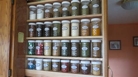 kitchen cabinet pull out spice rack