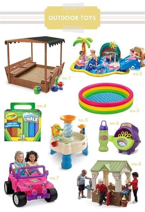17 best ideas about outdoor toys for toddlers on