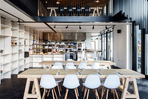 Open Floor House Plans With Loft tilt completes its first gallery restaurant on regent s canal