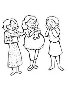 imagenes para pintar embarazadas dibujos para colorear de mujer embarazada imagui