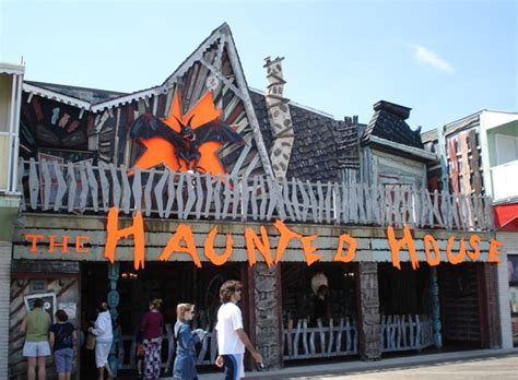 haunted house in maryland trimpers rides haunted house