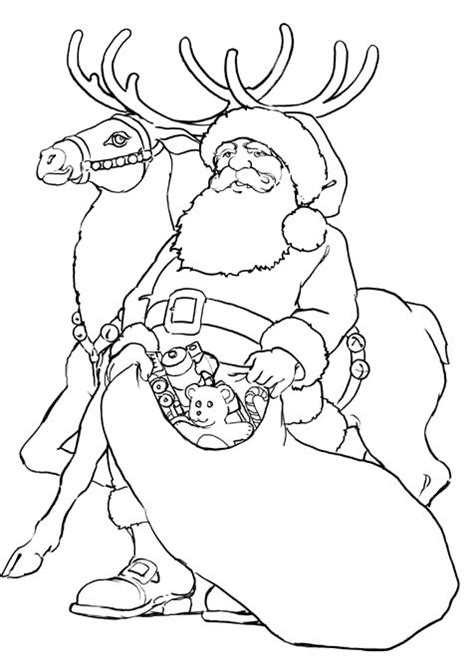 christmas coloring pages reindeer and coloring pages on