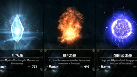 skyrim mage light spell skyrim master spells