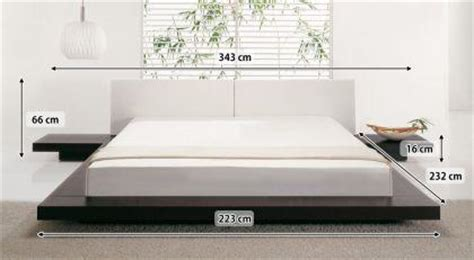 futonbett mit lattenrost design massivholz bett quot japan style quot holz bett walnuss mit