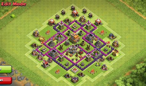 hd town hall 7 clash of clans town hall level 7 base layouts coc th7