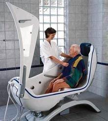 baignoire arjo arjo equipements hospitaliers produits baignoires