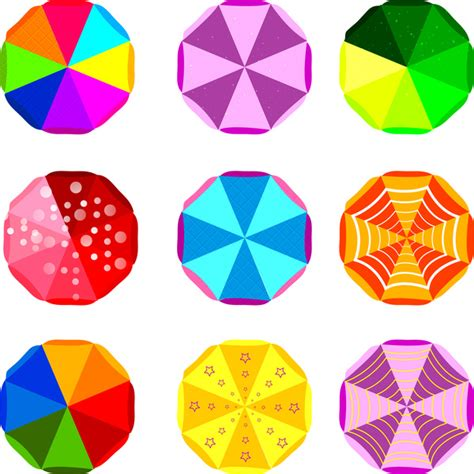octagon pattern ai colorful octagon decor design free vector in adobe