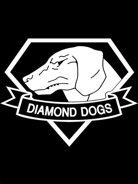 Dog Duvet Quot Metal Gear Solid Diamond Dogs Over Heart White
