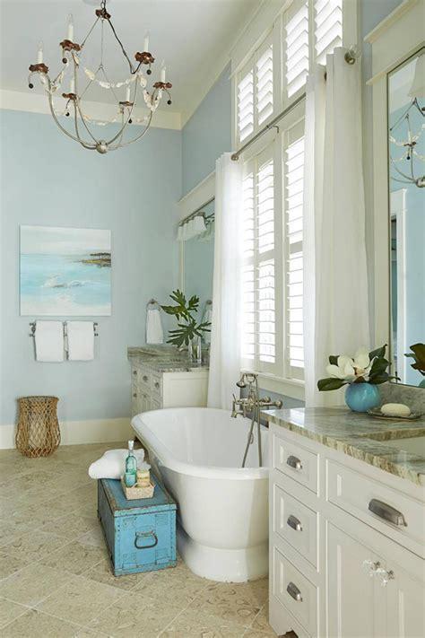 Seaside Bathroom Decorating Ideas - house of turquoise carlee