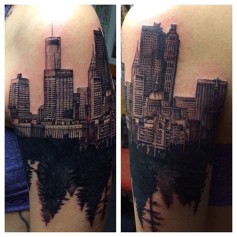 atlanta skyline tattoo memorial on pholder 349 memorial images