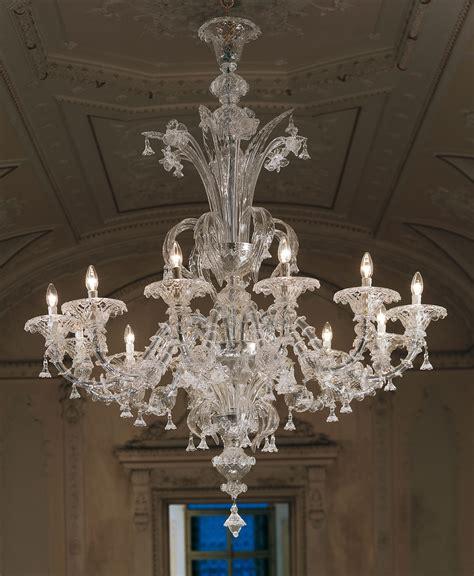 murano chandelier large clear rezzonico murano chandelier l7099k12