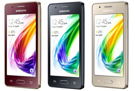 samsung z2 is the world s 4g tizen smartphone
