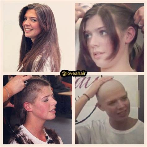 girl long headshave 290 best images about buzzed or bald women on pinterest