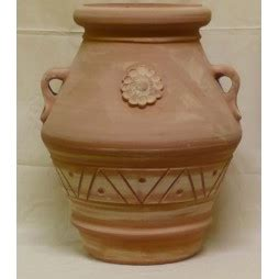anfora terracotta da giardino vaso anfora terracotta da giardino