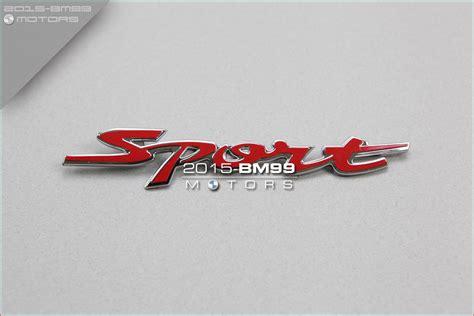 Emblem Wagon R sport emblem badge decal logo for suzuki wagon r