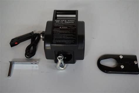 elektrische lier boottrailer producten 4buy electro autootjes elektrische lier