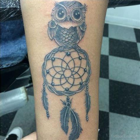 owl dreamcatcher tattoo bird tattoos designs pictures page 74