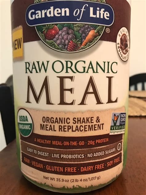 Garden Of Meal Replacement Ingredients Garden Of Organic Meal Replacement Formula