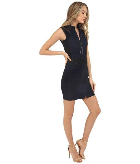 Dress Slim by Lyst G Slim Dress In Loxton Superstretch