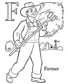 farmer coloring pages farm color page az coloring pages