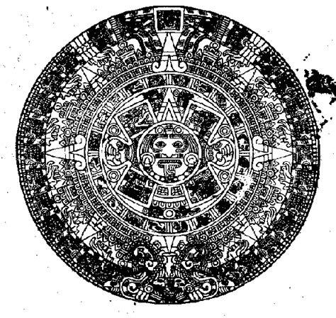 Calendario Y Azteca Es El Mismo Garabatos Y Otros Trazos Los Calendarios
