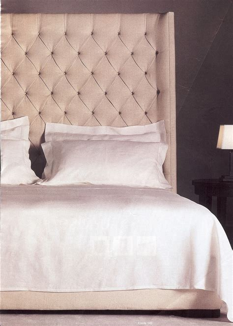 tuffeted headboard tufted high headboard beds pinterest