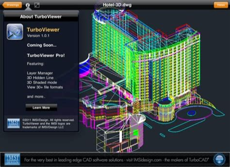 dwg format blender turboviewer open dwg files with 3d data on the ipad and