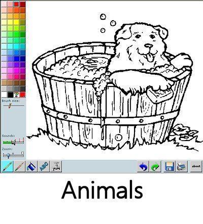 Animal Coloring Book App