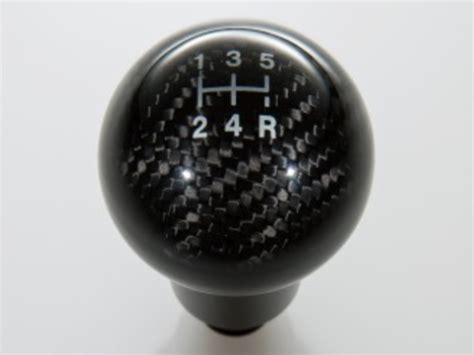 Ford Focus Shift Knob by Ford Focus Shift Knob Carbon Fiber 5 Speed Part No