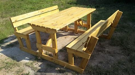 diy picnic bench pallet picnic table and benches 99 pallets