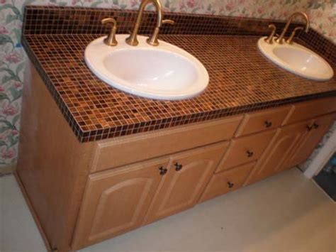 Ideas For Bathroom Countertops Bathroom Countertop Tile Ideas Decor Ideasdecor Ideas