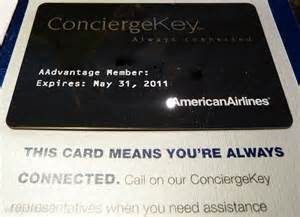 american airlines business card american airlines concierge key card