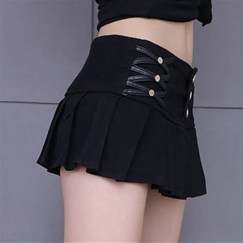 Mini Skirt Black White Jfashion tennis skirt patterns picture more detailed picture about fashion skirt for 2017