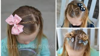 quick  easy toddler hairstyles  beginners youtube