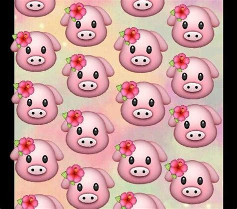 emoji pig wallpaper tropical pigs wallpaper emoji for phone wallpapers