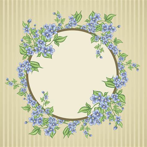 postcard flowers bouquet  vector graphic  pixabay