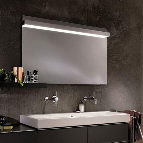 geberit bathroom geberit icon mirror with overhead lighting uk bathrooms