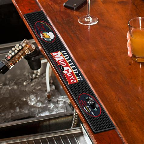 bar mat personalized bar mat groomsmen gift gifts for