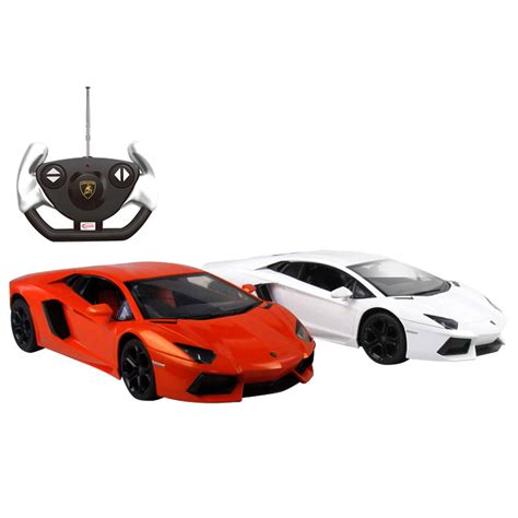Orange Lamborghini Remote Car Lamborghini Aventador 1 14 Scale Remote Car