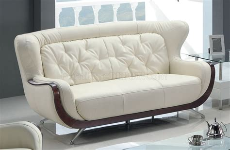White Bonded Leather Sofa by White Bonded Leather 7678 Sofa W Optional Loveseat Chair