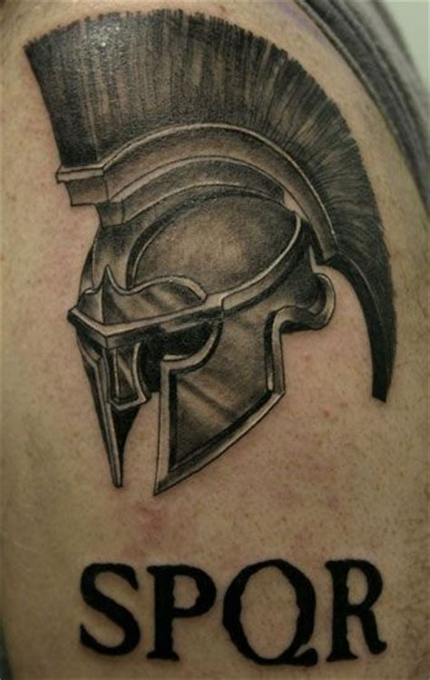 46 and 2 tattoo 1000 id 233 es sur le th 232 me spartan helmet sur
