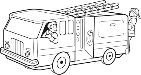 free printable vire coloring pages fire truck coloring pages bestofcoloring com