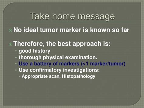 pattern analysis of tumor markers tumor markers dr enja amarnath reddy