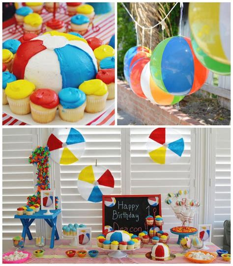 beach theme decorations for home breeze smell of a beach birthday party home party ideas