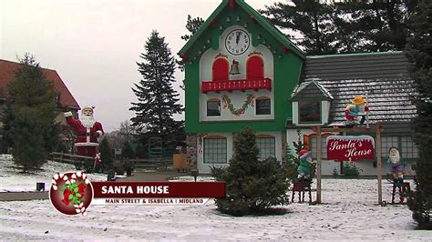Midland Santa House by Event For November 2016 Clausnet